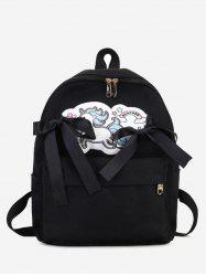 Unicorn Bow Ribbon Backpack -