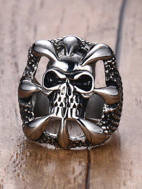 Latest Skull Claw Stainless Steel Finger Ring