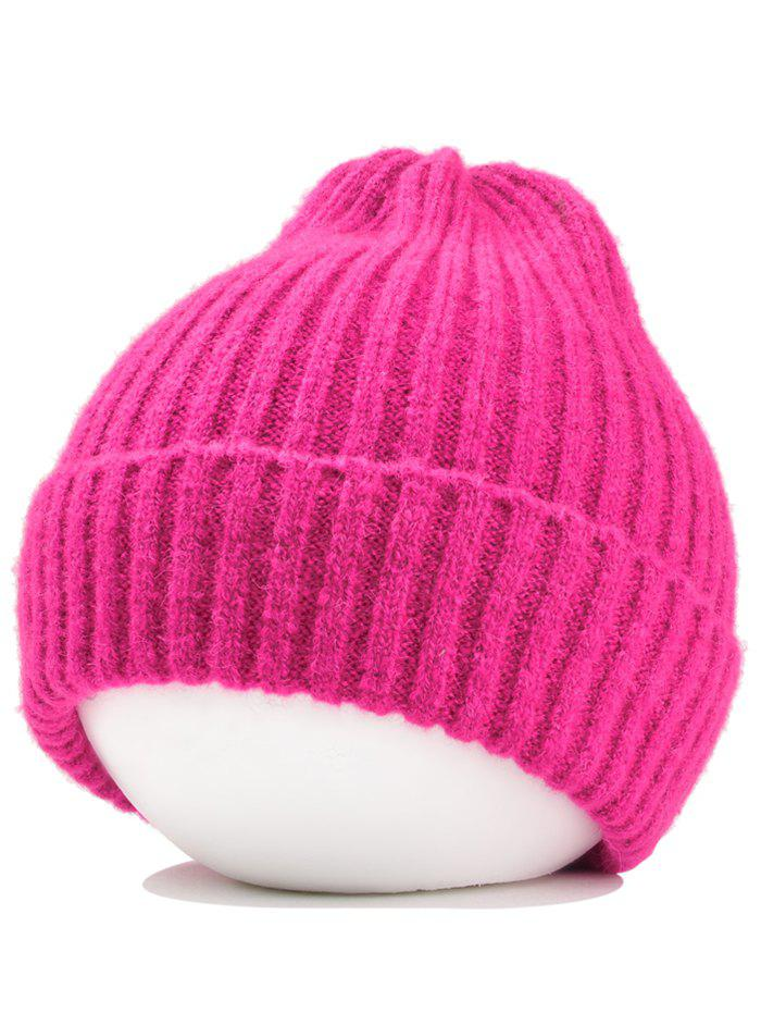 Fashion Outdoor Flanging Crochet Knitted Lightweight Beanie