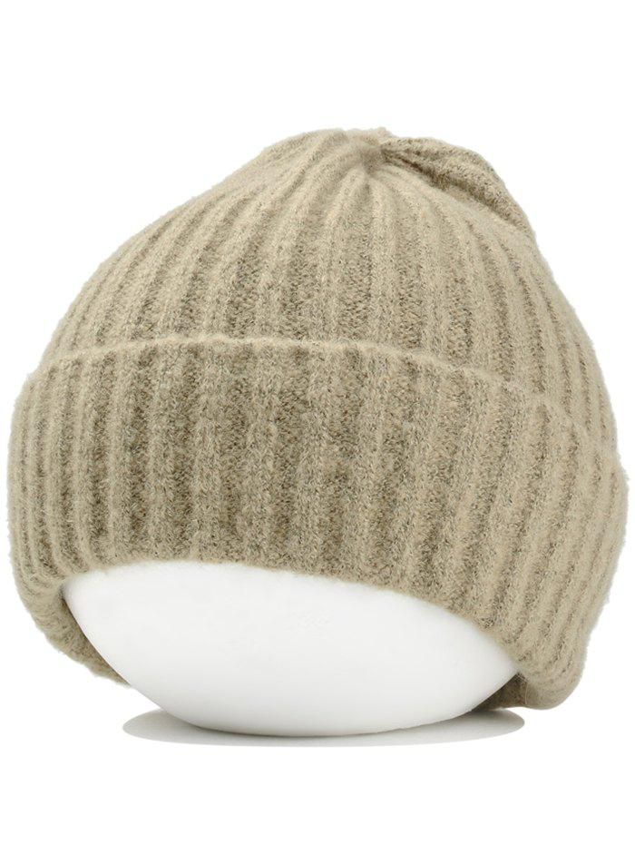 Outfit Outdoor Flanging Crochet Knitted Lightweight Beanie
