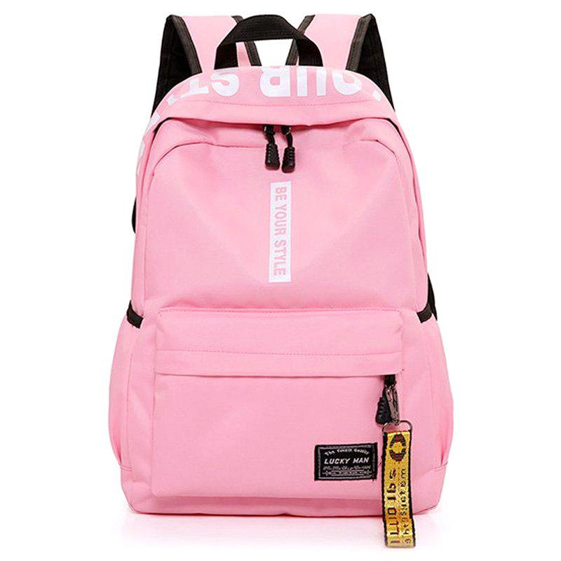 Store Letter Print Multi Function Backpack