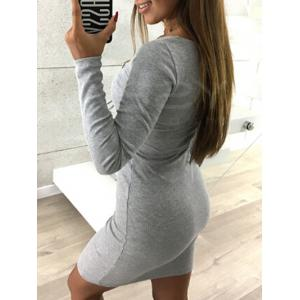 Кружева мини bodycon клуб платье -