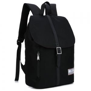 Front Zip Buckle Strap Multi Function Backpack -