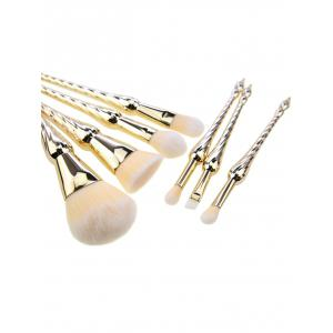 Pointed Scepters Handle Makeup Brush Set 7Pcs -