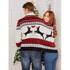 Reindeer Two Person Christmas Sweater -