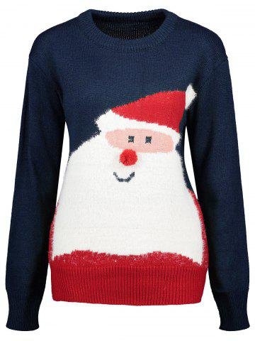 Outfits Santa Claus Crew Neck Christmas Sweater