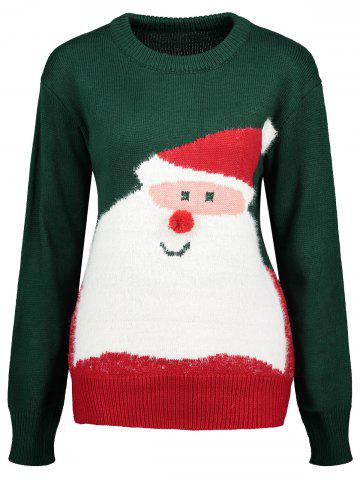 Buy Santa Claus Crew Neck Christmas Sweater