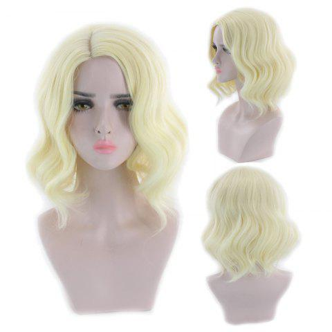 Outfits Short Side Parting Wavy Synthetic Cosplay Wig
