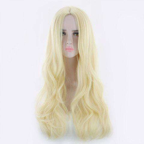 Sale Long Center Parting Wavy Synthetic Cosplay Wig
