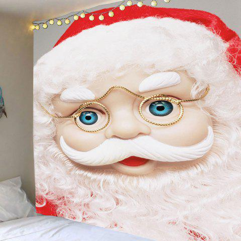 Online Santa Claus With Glasses Patterned Decorative Tapestry