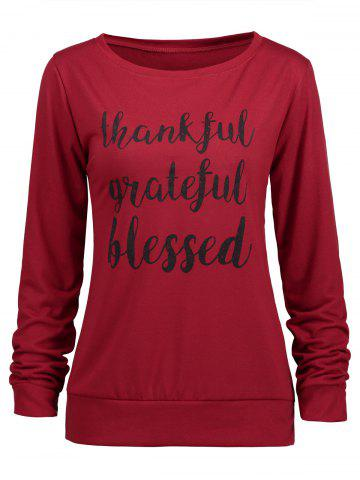 Thanksgiving béni reconnaissant sweat-shirt