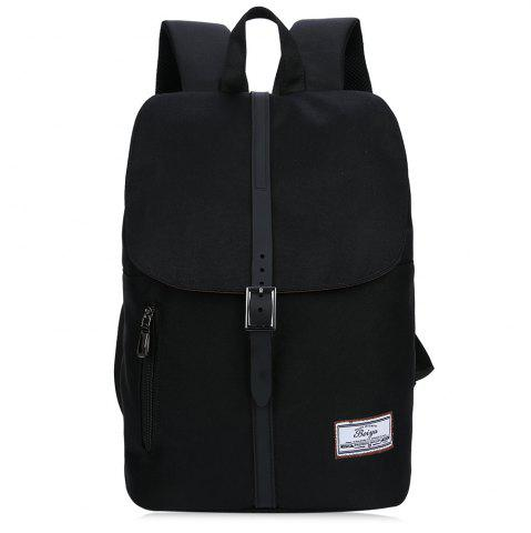 Unique Front Zip Buckle Strap Multi Function Backpack