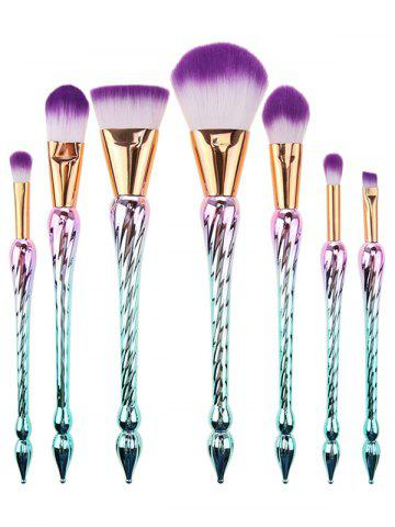 Discount Pointed Scepters Handle Makeup Brush Set 7Pcs