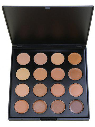 Latest 16 Colors Highlighter Base Foundation Cream Concealer Palette