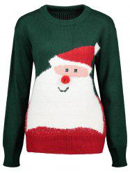 Santa Claus Crew Neck Christmas Sweater -