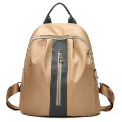 Nylon Backpack With Handle -