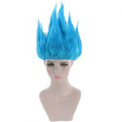 Anime Dragon Ball Goku Cosplay Party Short Straight Synthetic Wig -