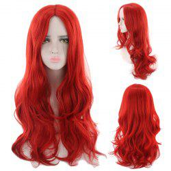 Long Center Parting Wavy Synthetic Cosplay Wig -
