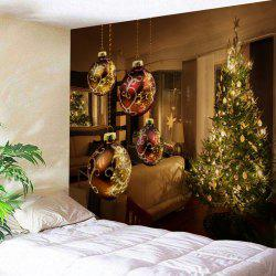 Wall Hanging Christmas Living Room Printed Tapestry -