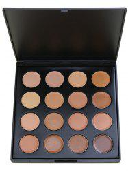 16 Colors Highlighter Base Foundation Cream Concealer Palette -