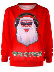 Santa Claus Christmas Crew Neck Sweatshirt -