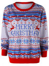 Christmas Graphic Sweatshirt -