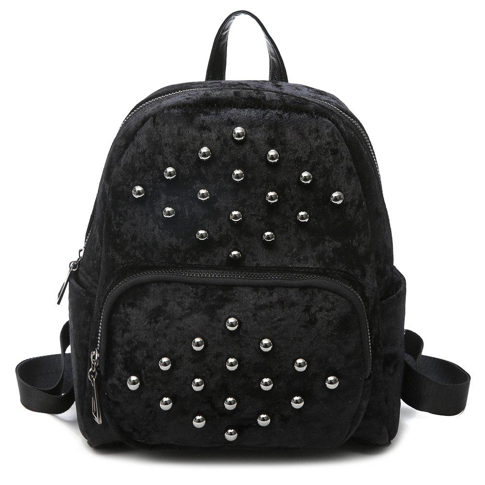 Chic Multi Function Studs Backpack