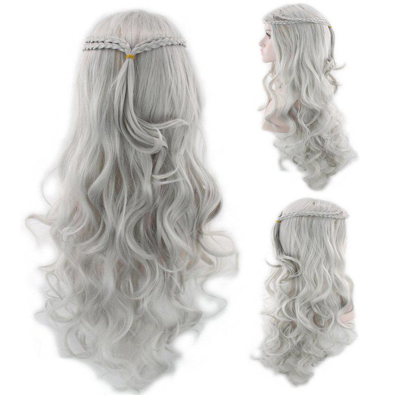 Shop Long Braided Wavy Synthetic Cosplay Wig