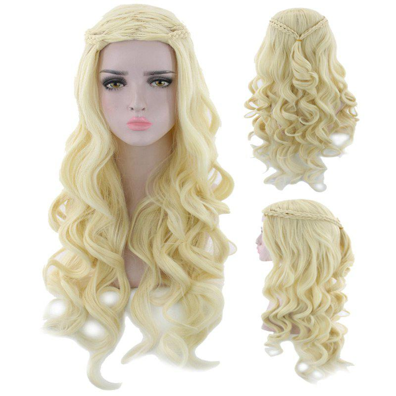 Store Long Braided Wavy Synthetic Cosplay Wig