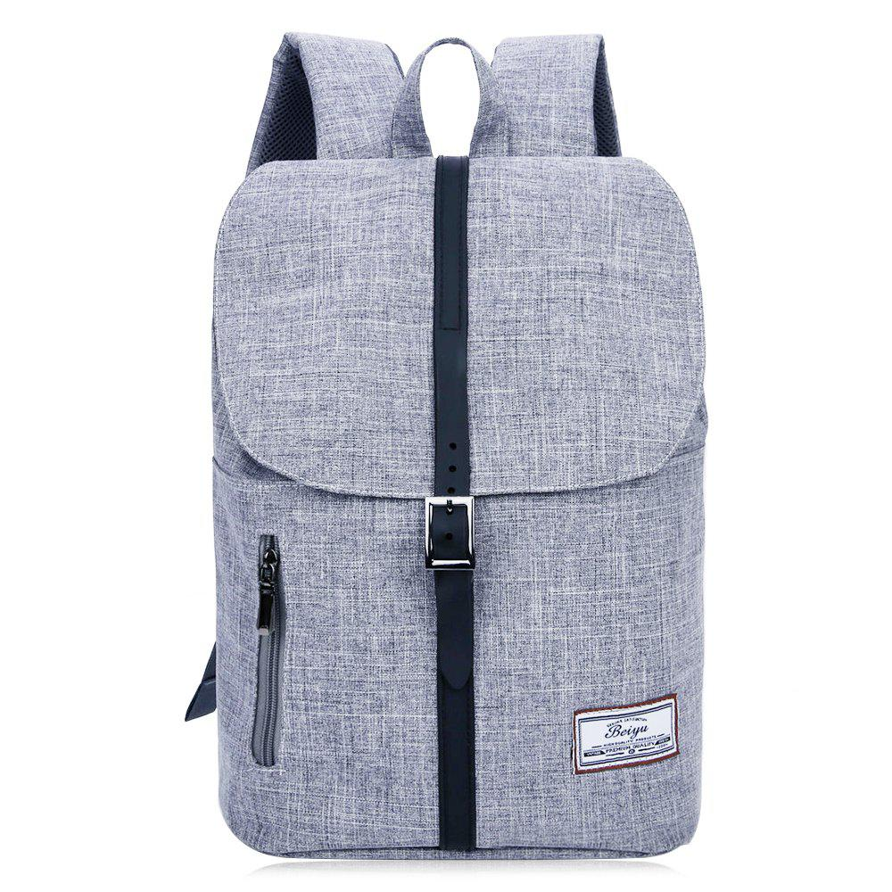 Outfit Front Zip Buckle Strap Multi Function Backpack
