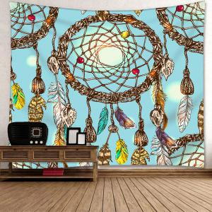 Wall Hanging Dreamcatcher Printed Tapestry -