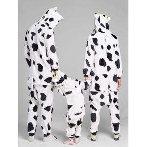 Milch Cow Animal Onesie Matching Family Christmas Pajamas -