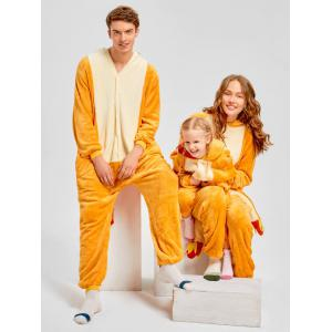 Christmas Family Fiery Dragon Animal Onesie Pajama -