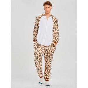 Leopard Bear Animal Family Onesie Pajamas  -