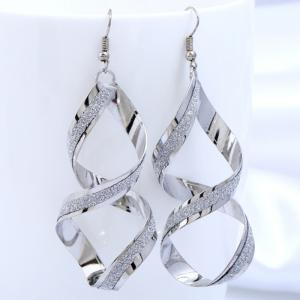 Spiral Geometrical 8-shape Drop Earrings -