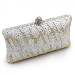 Rhinestone Embellishing Evening Bag -