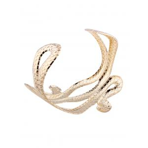 Punk Snake Shape Multilayered Cuff Bracelets -
