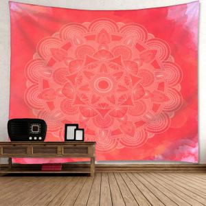 Wall Art Mandala Flower Print Tapestry -