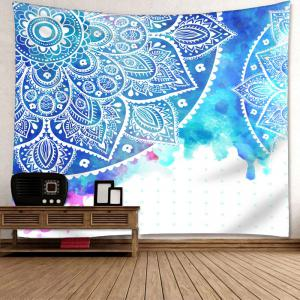 Mandala Flower Print Wall Decor Tapestry -