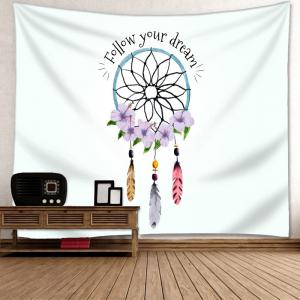 Dreamcatcher Letter Print Wall Art Tapestry -