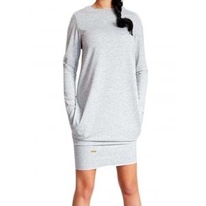 Casual Long Sleeve Dress -