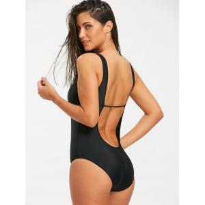 Slimming Low Back One Piece Swimsuit -