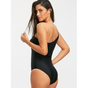 One Shoulder One Piece Swimsuit -