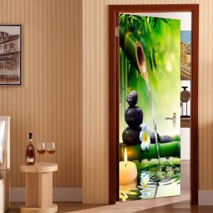 ... Environmental Removable Bamboo Pool Printed Door Stickers ... : environmental door - Pezcame.Com