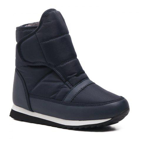 Skid Resistance Faux Fur Lined Ankle Boots