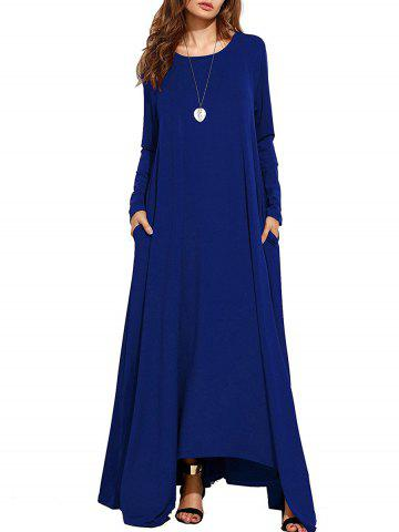 Fancy Long Sleeve Maxi Casual Dress