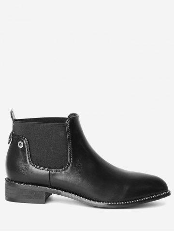 New Eyelets Pointed Toe Rivets Boots