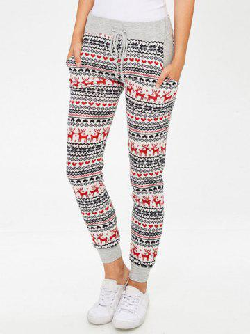 Shop Snowflake Reindeer Leggings