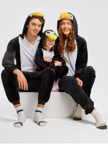 Affordable Penguin Christmas Animal Onesie Pajama for Family