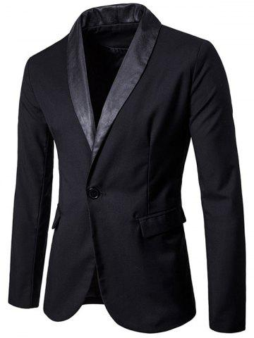 New Shawl Collar One Button Tuxedo